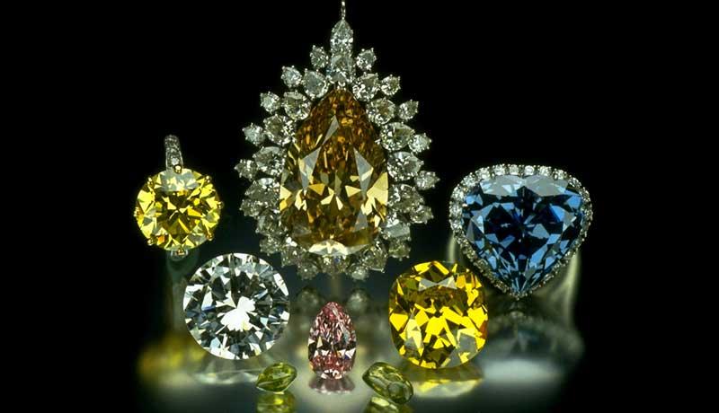 Цены на цветные бриллианты немного выросли