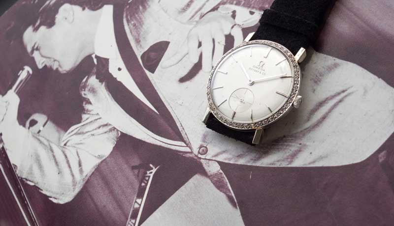 Часы с бриллиантами Элвиса Пресли