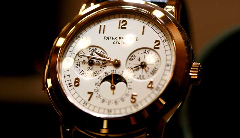 Экспорт швейцарских часов продолжил свой рост в январе
